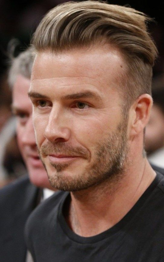 David beckham new hair style - http://new-hairstyle.ru ...