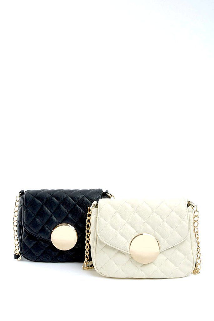 The Larissa Quilted Crossbody Bag