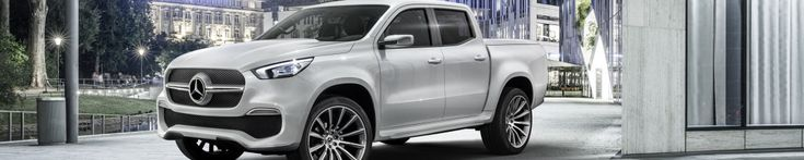 Mercedes-Benz Vans expands product range: Mercedes-Benz Concept X-CLASS – First outlook on the new pickup bearing the three-pointed star - Daimler Global Media Site