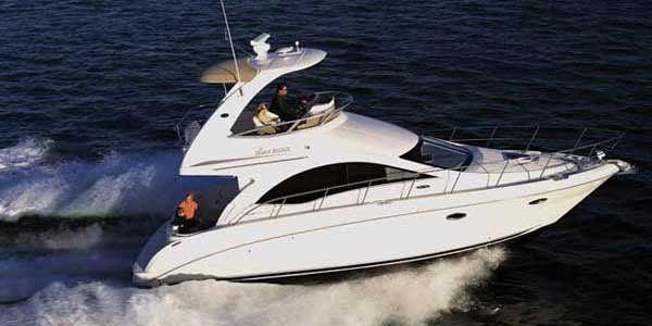Sedan Bridge Boat - Sea Ray 36