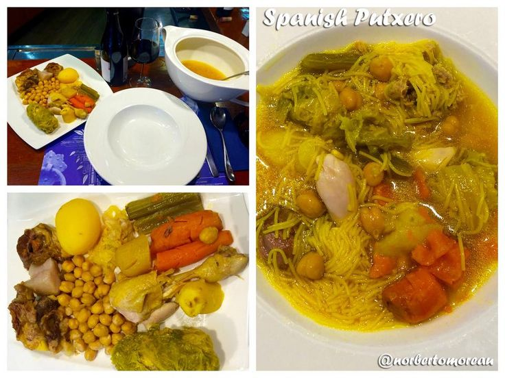 Spanish Putxero - one of my favorite plates!