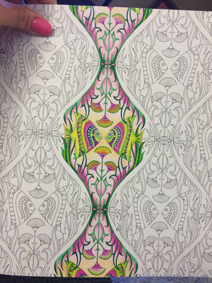 lostocean johannabasford adult coloringcoloring booksprismacolorjohanna