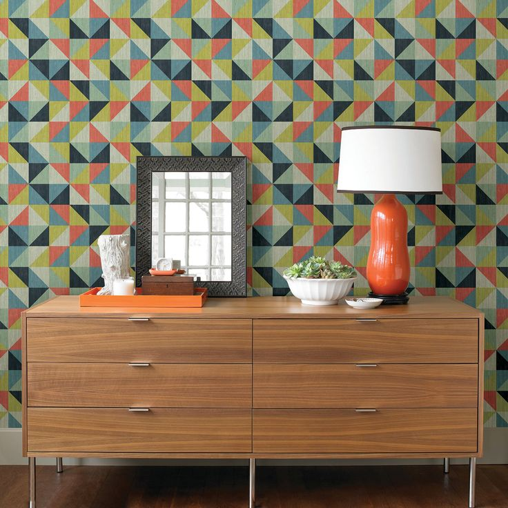 Albany Geometrie Puzzle Multi-coloured Wallpaper. Albany Wow! 2015 Collections.