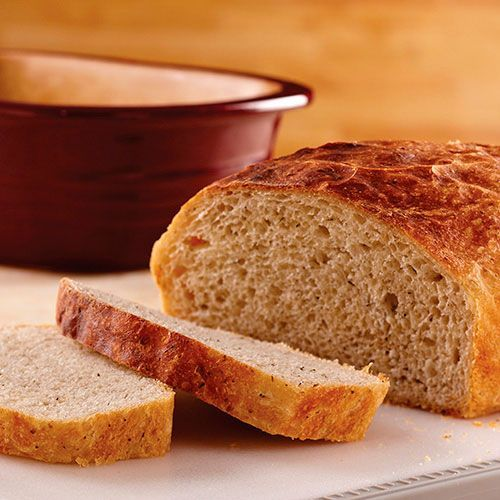 Deep Covered Baker No-Knead Bread - The Pampered Chef®