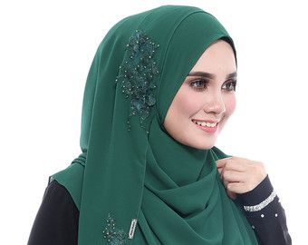 Exclusive Semi Instant Hijab/Slip On CALA ROSSA 2 LOOP By