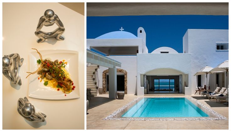 Back at your home-from-home, cool off in one of the two swimming pools while your chef grills freshly-caught Dorado on the barbeque and the stars slowly come out to play at Santorini, #Mozambique. #GourmetAfrica #Africa #travel #beach #food #cuisine #island