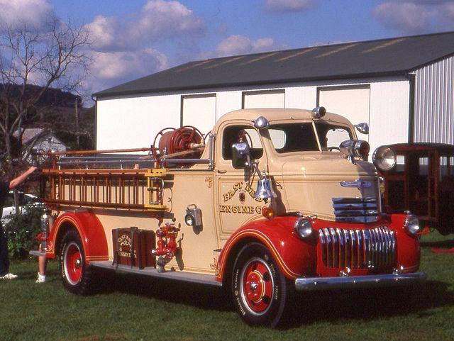 1941 Chevrolet COE firetruck.