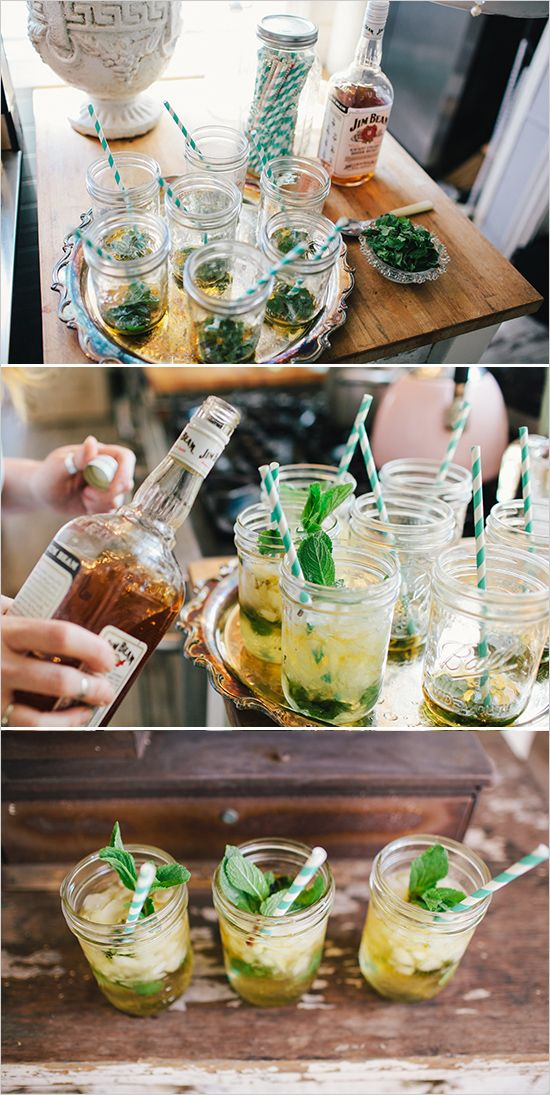 Kentucky Derby inspired bridal shower overflowing with details and mint julep recipe. #weddingchicks Captured By: Bri Morse Imagery http://www.weddingchicks.com/2014/07/09/a-day-at-the-races-inspired-bridal-s