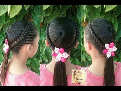 Peinados Para Ninas La Maya Y Coletas Peinados Faciles Y Rapidos