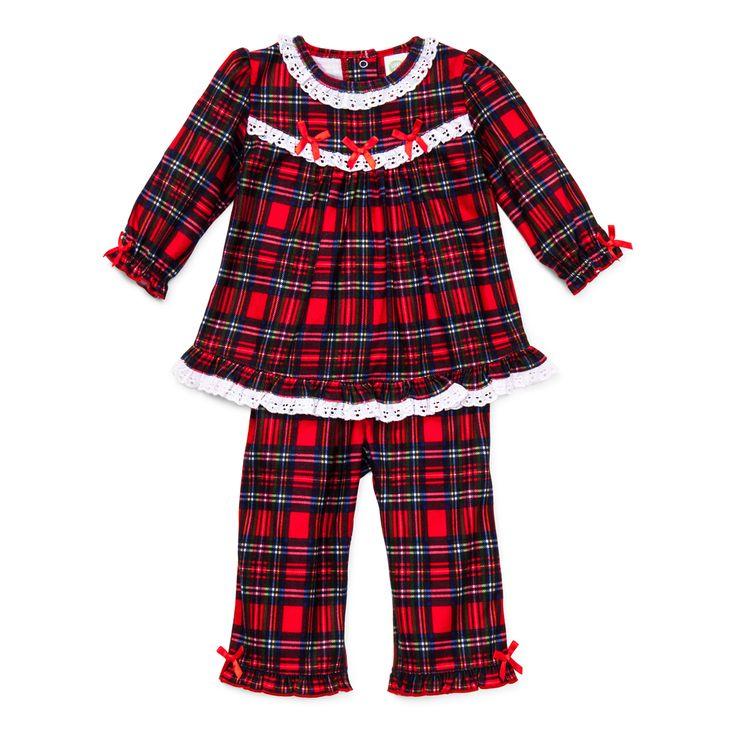 Little Me Boutique - Holiday - Girls 2pc Plaid Pajama Set , $24.00 (http://www.littleme.com/holiday-girls-2pc-plaid-pajama-set/)