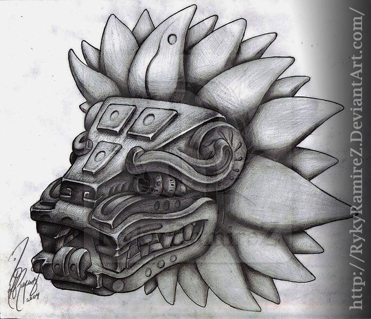 Ms de 25 ideas increbles sobre Quetzalcoatl tattoo en Pinterest