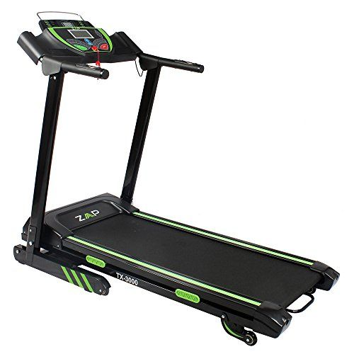 ZAAP Fitness TX-3000 Motorised Electric Treadmill / Running Machine - Sale! Up to 75% OFF! Shop at Stylizio for women's and men's designer handbags, luxury sunglasses, watches, jewelry, purses, wallets, clothes, underwear