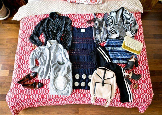 Carry On Travel Packing Tip  Don't Pack Outfits.  Pack A Theme