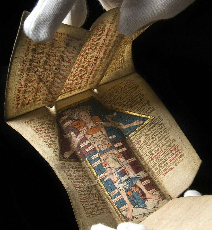 The Wellcome Library has acquired a gorgeous 15th century manuscript with fold-out illustrations relating to astrology and medicine. Previously unknown to scholars - in fact, it turns out to have been owned by eccentric English poet Edith Sitwell. booksnbuildings.tumblr.com