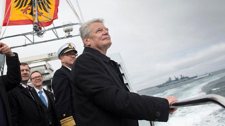Bundespräsident geht im März 2017: Joachim Gaucks Amtszeit im Rückblick