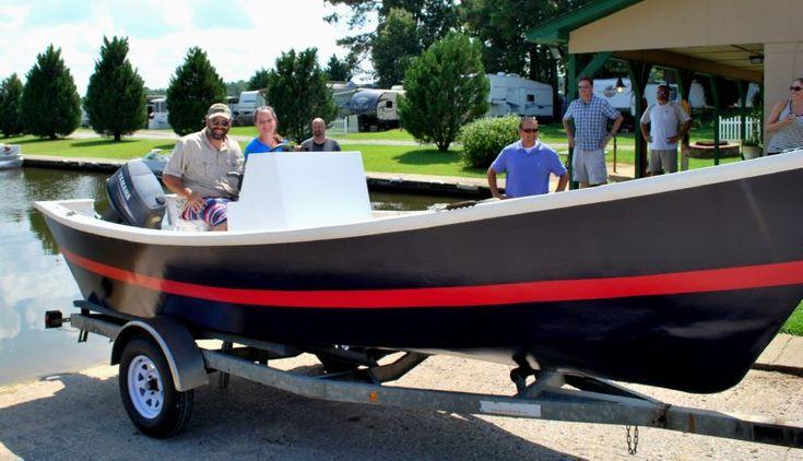 Hatteras V-Bottom Dory Wooden Boat Plans