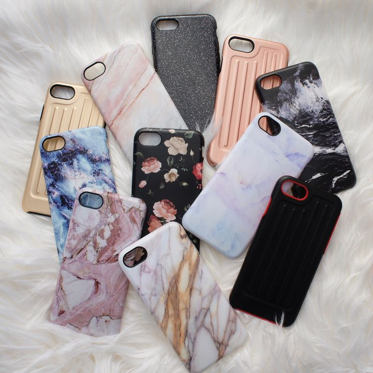 Check off everyone on your list ✔️ Elemental Cases for iPhone 7 & iPhone 7 Plus. Marble, Florals, Liner & Glam Cases.