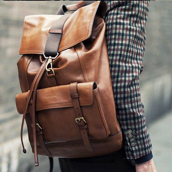 25  best ideas about Leather backpack for men on Pinterest ...