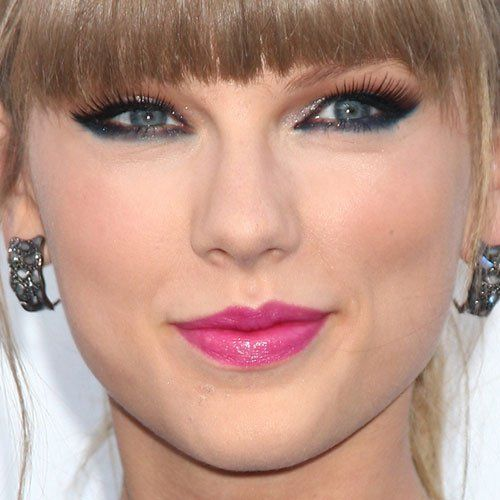 MakeUp con tocco blu di Taylor Swift