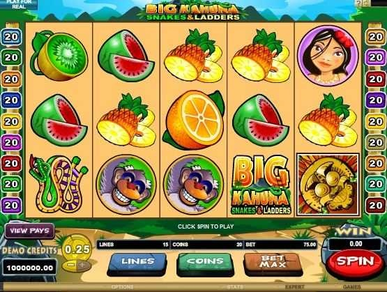 free slots games big kahuna