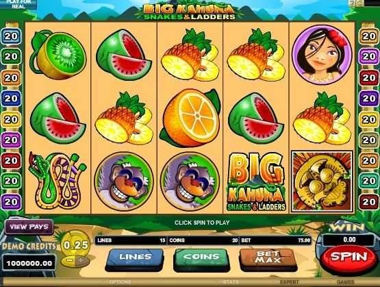 free slots games big kahuna