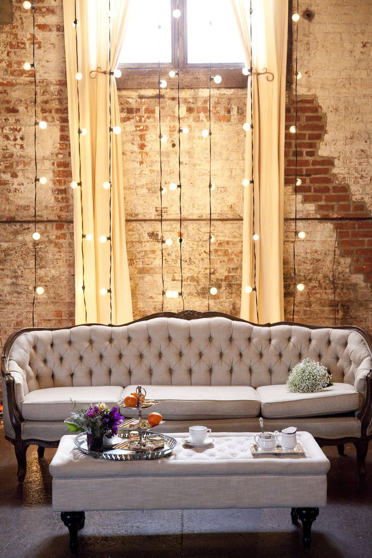 Eclectic Brooklyn Wedding Inspiration Industrial Wedding DecorVintage