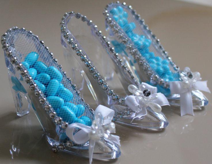 one diamond wedding rings Bride Tiffany  Favor Slippers  Cinderella Wedding Shoe Favors  Cinderella slipper Favors   12 pcs