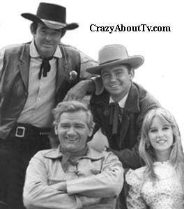 """Cimarron Strip"" ~ Stuart Whitman, Percy Herbert, Randy Boone & Jill Townsend 1967-1968"