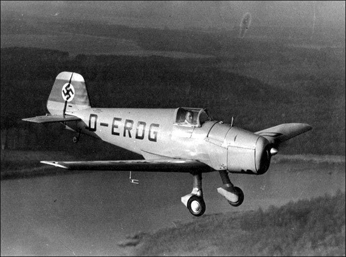 Bücker-Flugzeuge Bü 182 Kornett
