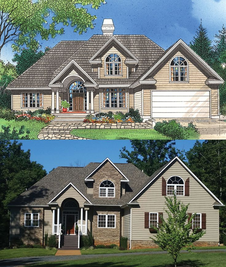 17 best images about rendering to reality on pinterest for House plans with columns