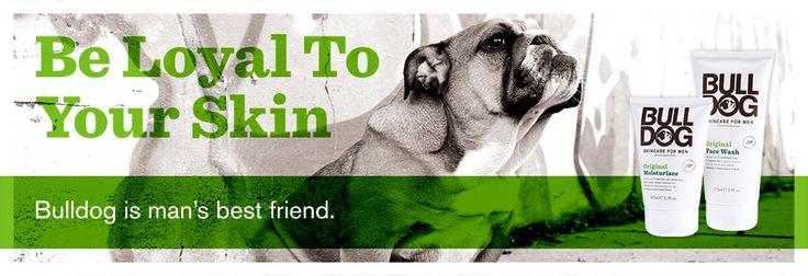 Bulldog hudvårdsserie - speciellt framtagen för män