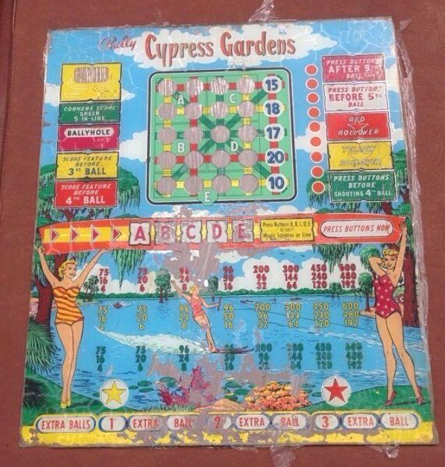 bally bingo pinball machine