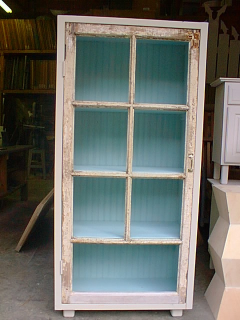 An Old Window Turned Into A Cabinet Things I Have Made