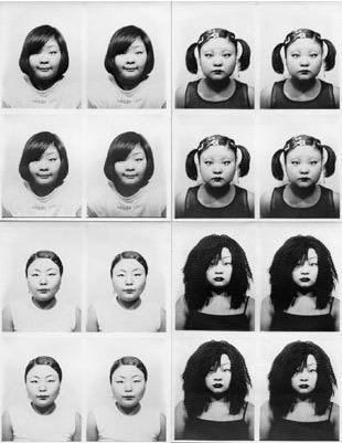 いくつもの顔を持つセルフポートレート/澤田知子