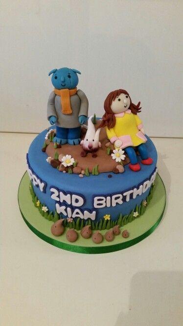 Abney, Teal and Neep Birthday Cake: