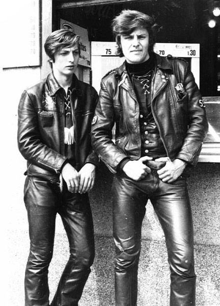 17 Best Images About Vintage Leather Biker Jacket On