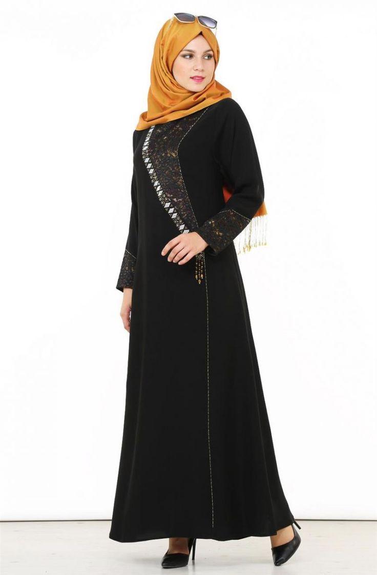 """Saygı Dantel Detaylı Ferace-Siyah Altın 6782-0131 Sitemize """"Saygı Dantel Detaylı Ferace-Siyah Altın 6782-0131"""" tesettür elbise eklenmiştir. https://www.yenitesetturmodelleri.com/yeni-tesettur-modelleri-saygi-dantel-detayli-ferace-siyah-altin-6782-0131/"""