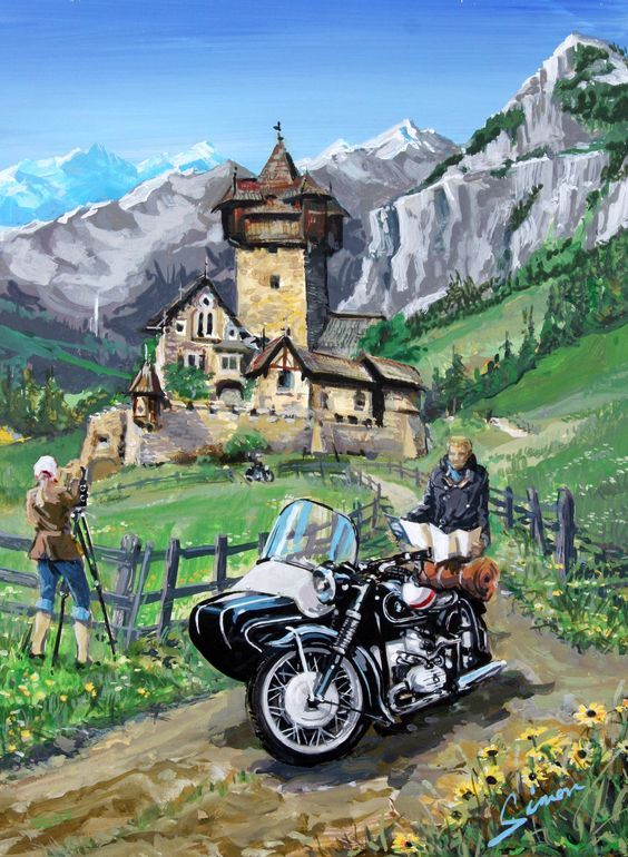 Best Motorcycles Images On Pinterest Motorcycles Biking And - Bmw motorcycle tin signs