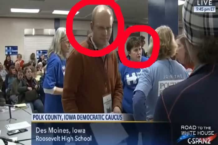 Voter Fraud in Iowa caught on video... http://www.thepoliticalinsider.com/clinton-iowa-caucus-exposed-caught-commiting-voter-fraud/