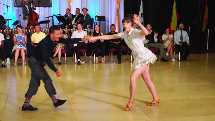At The International Lindy Hop Championships in Washington, DC.