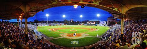 Louisiana State University - Alex Box Stadium Panorama Photographic Print at Art.com
