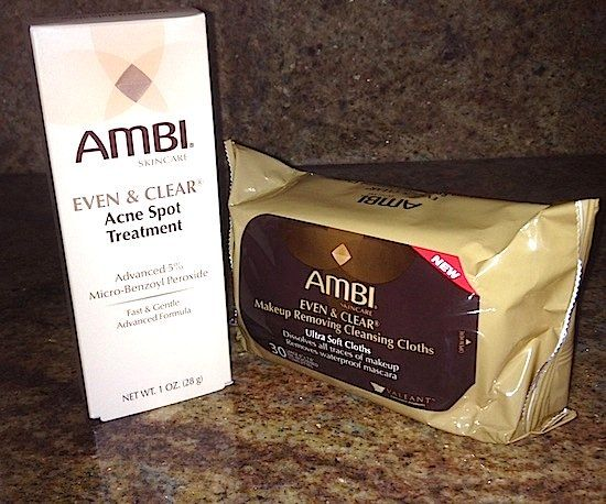 BEFORE/AFTER PHOTOS: Review Ambi Even & Clear Acne Spot Treatment, Makeup Removing Cleansing Cloths – Best Treatments To Fade Spots For African American, Dark Skintones #stat