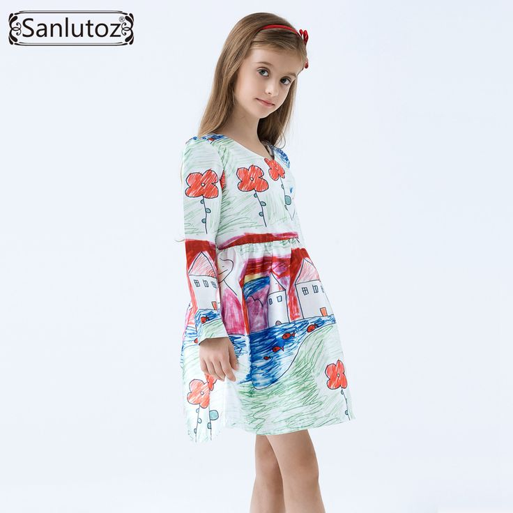 Girls Dress Winter Children Clothing Brand Girls Dress Cartoon Kids Clothes for Princess Holiday Party Wedding Baby Toddler-in Dresses from Mother & Kids on Aliexpress.com   Alibaba Group