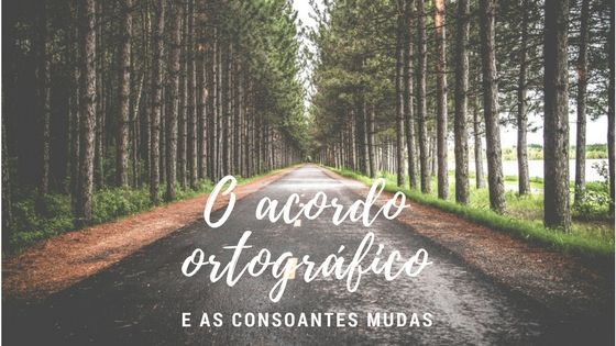 O acordo ortográfico e as consoantes mudas De todas as alterações introduzidas pelo acordo ortográfico de 1990 (AO90), a eliminação das consoantes mudas c e p será a que ficou mais presente na mente dos portugueses.