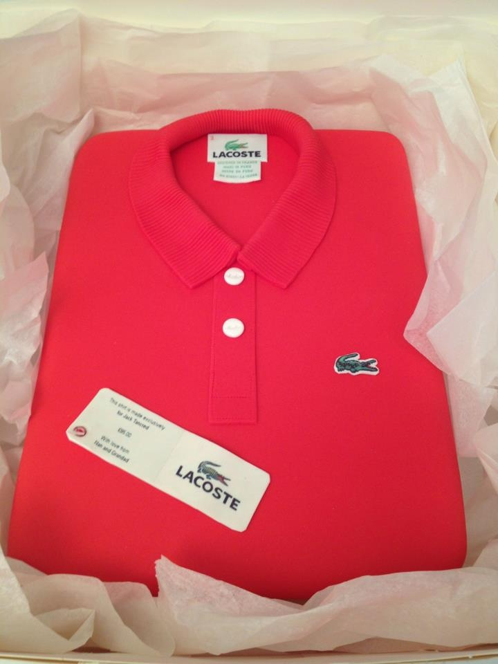Look closely, it's a cake, not a shirt!