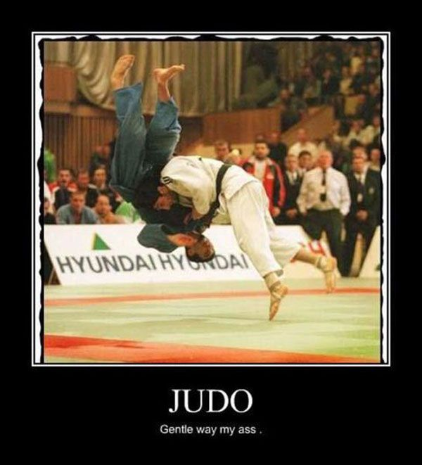 Judo did this before Tae Kwon Do for three years, but then it was about time for some real kicking and punching :)
