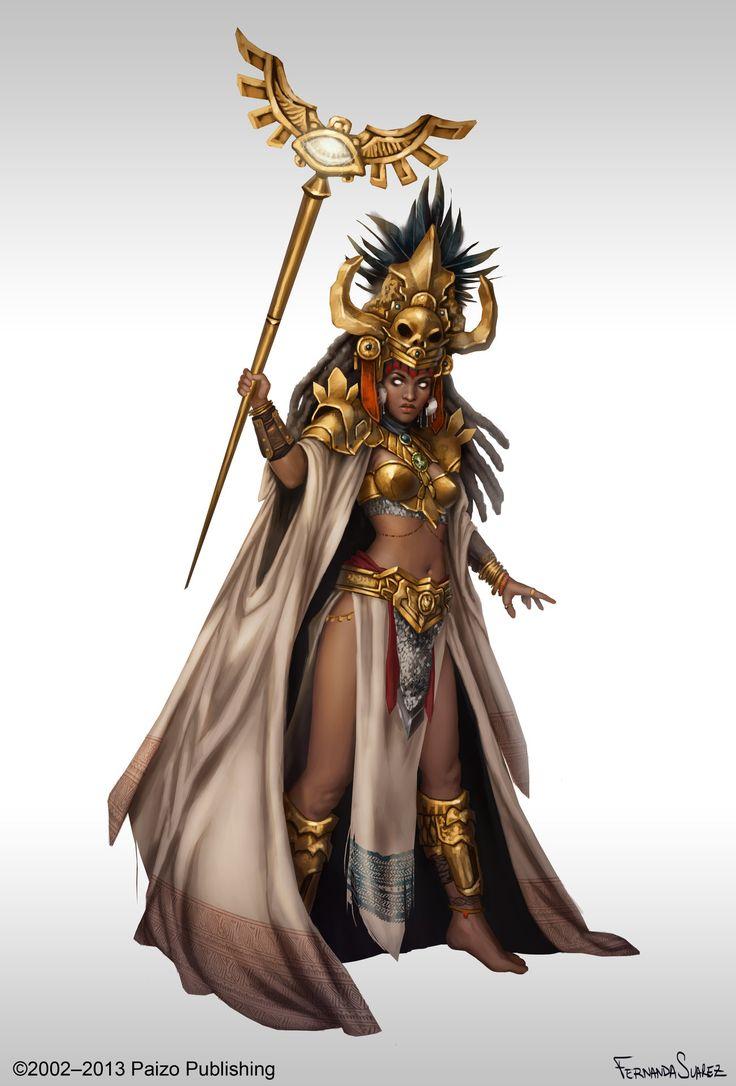 Paizo Mythic Oracle by Fernanda Suarez.   Character ...