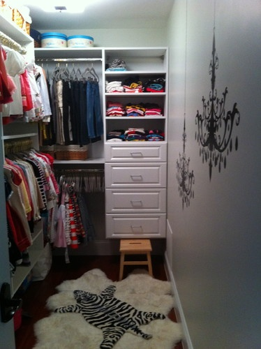 4 Foot Closet Layout