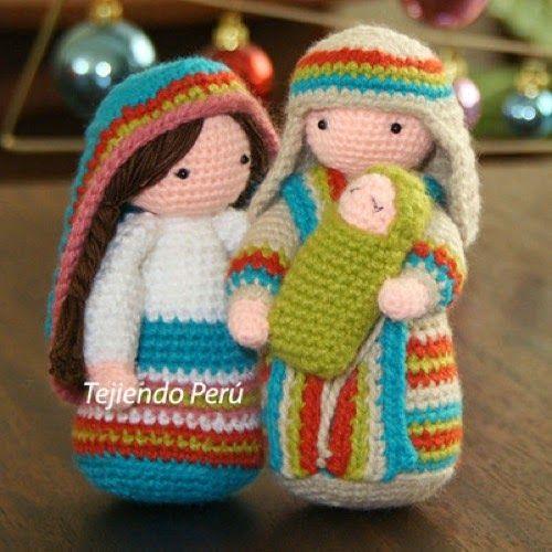 Patrones Amigurumi: Pesebre Navideno Navidad Pinterest ...