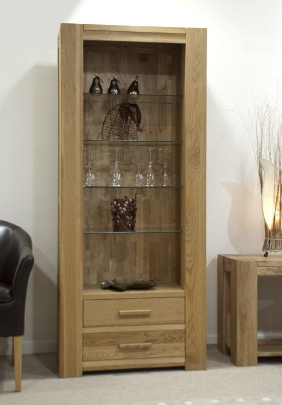 Trend Solid Oak Bookcase (tall)